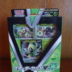 Pokemon Sword & Shield Starter Deck Set V Grass Celebi (japanisch)