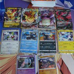 Pokemon S5a Sword & Shield Double Fighter 140 Karten mit 4 V und 6 Holokarten (Japanisch)