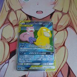 Pokemon Karte Slowpoke und Psyduck GX 096/094 Secret Rare Miracle Twin (Japanisch)