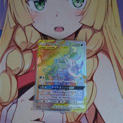 Pokemon Karte Greninja und Zoroark GX 066/055 Rainbow Rare Night Unison (Japanisch)