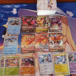 Pokemon S5a Sword & Shield Double Fighter 140 Karten mit 6 V und 8 Holokarten (Japanisch)