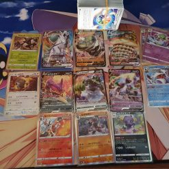 Pokemon s6H Sword & Shield Silver White Lance 140 Karten mit 6 V und 8 Holokarten (Japanisch)