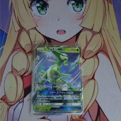 Pokemon Karte Virizion GX 006/060 Thunderclap Spark (Japanisch)
