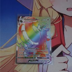 Pokemon Karte Copperajah VMAX Rainbow Rare 199/192 Rebel Clash(Englisch)