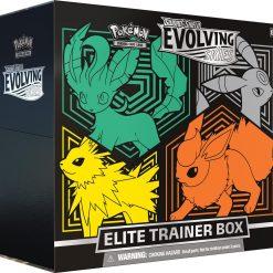 Pokemon Evolving Skies Elite Trainer Box Leafeon Umbreon Jolteon Flareon