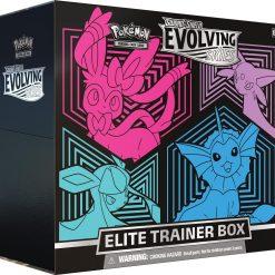 Pokemon Evolving Skies Elite Trainer Box Sylveon Espeon Glaceon Vaporeon