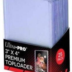 Ultra Pro Toploader Clear Premium (25 Stück)
