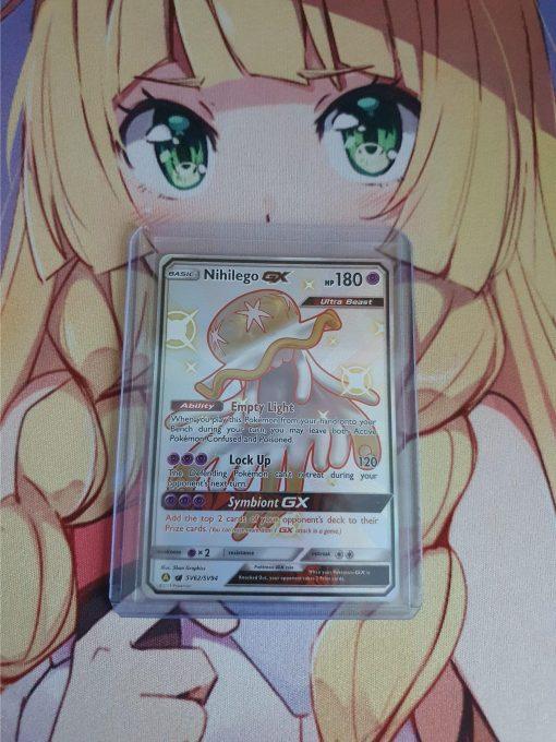Pokemon Karte Nihilego GX SV62/SV94 Hidden Fates Shiny Vault (Englisch)