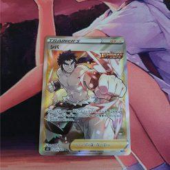 Pokemon Karte Bruno Full Art 079/070 Single Strike Master (Japanisch)