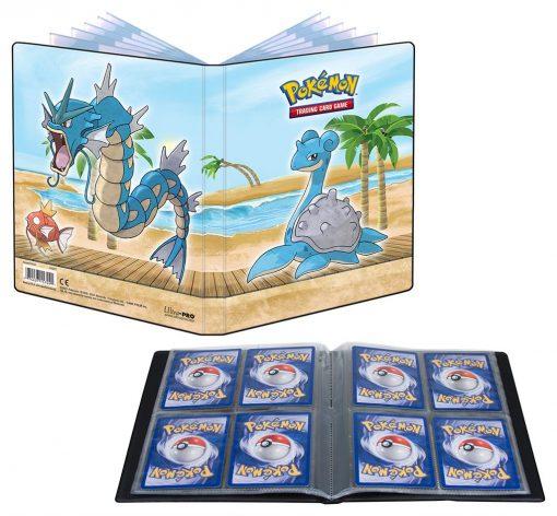 Pokemon Gallery Series Seaside 4-Pocket Sammelalbum