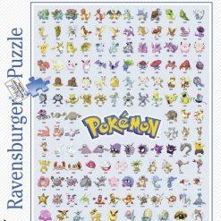 Pokémon Puzzle 500 Teile (Ravensburger)