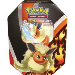 Pokemon Karten Flareon V Fall Tin (Englisch)