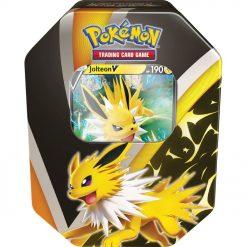 Pokemon Karten Jolteon V Fall Tin (Englisch):
